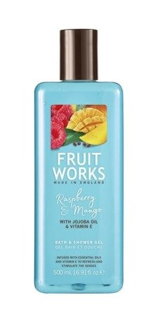 GRACE COLE_Fruit Works Bath & Shower Gel żel pod prysznic Malina & Mango 500ml